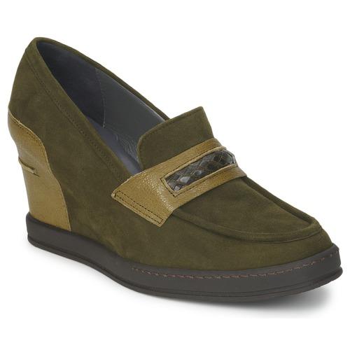 Shoes Women Loafers Stéphane Kelian GARA Green