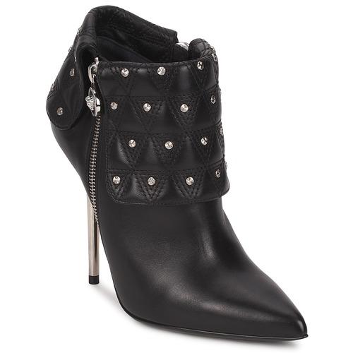 Shoes Women Ankle boots Versace DSL894P Black