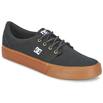 Shoes Men Low top trainers DC Shoes TRASE TX Black / Gold