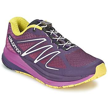 Shoes Women Running shoes Salomon SENSE PROPULSE W Purple / Pink / Yellow