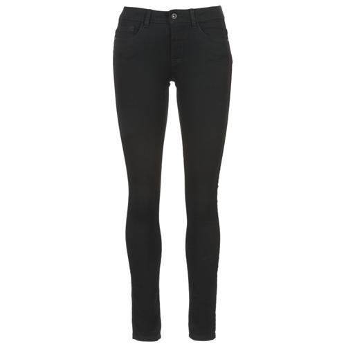 Clothing Women Slim jeans Only SKINNY REG. SOFT ULTIMATE NOOS Black