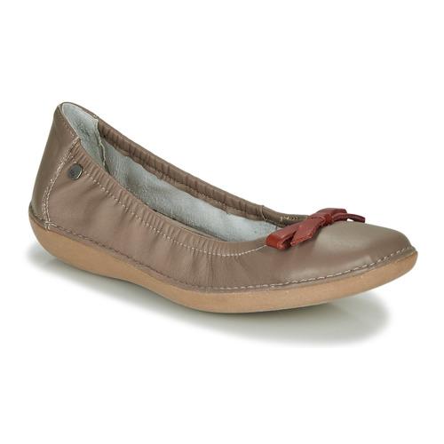 Shoes Women Flat shoes TBS MACASH Taupe