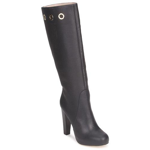 Shoes Women High boots Escada EUDOXIE Black