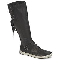 Shoes Women High boots Pataugas JOSS Black