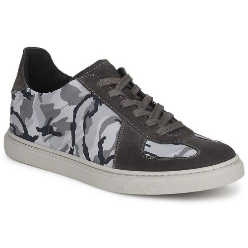 Shoes Men Low top trainers Ylati NETTUNO Grey