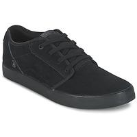 Shoes Men Low top trainers Volcom GRIMM 2 Black