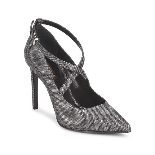 Shoes Women Heels Roberto Cavalli WDS234 Grey