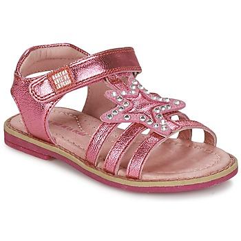Shoes Girl Sandals Agatha Ruiz de la Prada NUEL Pink