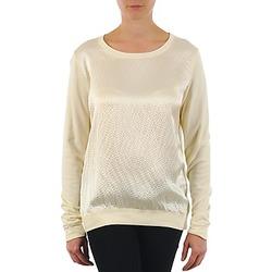 Clothing Women Long sleeved tee-shirts Majestic 237 ECRU