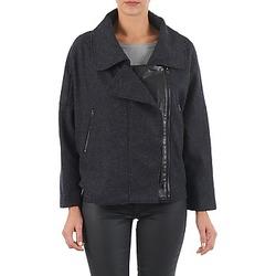 Clothing Women Jackets Color Block 3222271 Black