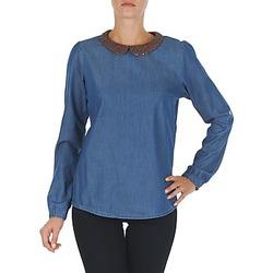 Clothing Women Tops / Blouses Tommy Hilfiger DENIM CHRISTY ROSEVILLE Blue