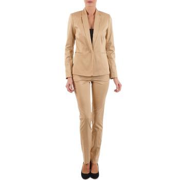 Clothing Women 5-pocket trousers La City PBASIC BEIGE