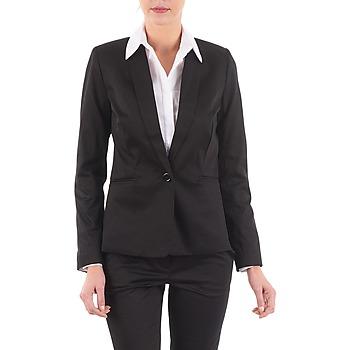 Clothing Women Jackets / Blazers La City VBASIC Black