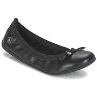 Shoes Women Flat shoes Le Temps des Cerises LILOU Black