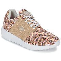 Shoes Women Low top trainers Le Temps des Cerises FLY Red