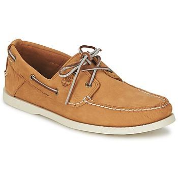Shoes Men Boat shoes Timberland EK HERITAGE BOAT 2 EYE Brown