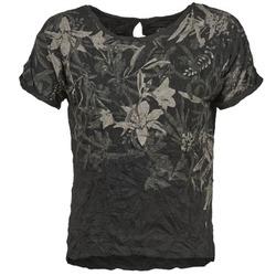 Clothing Women short-sleeved t-shirts Oxbow NIANA Black