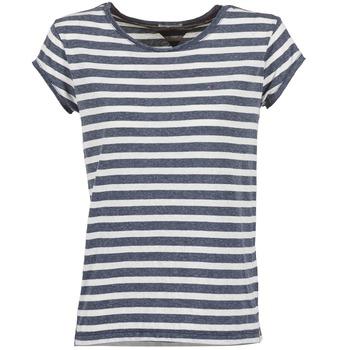 Clothing Women short-sleeved t-shirts Hilfiger Denim AMELIE MARINE / White