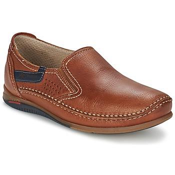 Shoes Men Slip ons Fluchos CATAMARAN Brown
