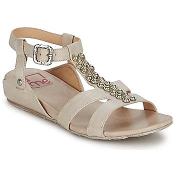 Shoes Women Sandals Un Matin d'Ete BOSQUET Natural