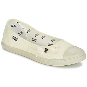 Shoes Women Flat shoes Molly Bracken LONA STRASS BEIGE