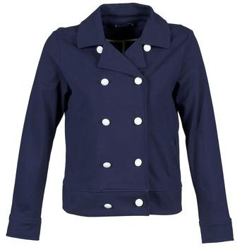 Clothing Women Jackets / Blazers Petit Bateau FLORINE MARINE