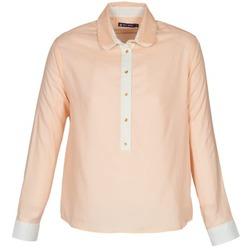 Clothing Women Shirts Petit Bateau FILAO Pink