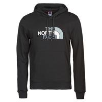 Clothing Men sweatpants The North Face DREW PEAK PULLOVER HOODIE Black