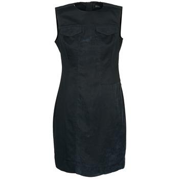 Clothing Women Short Dresses Diesel D-SIRY Black