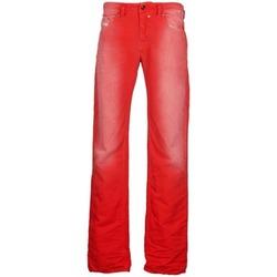 Clothing Men straight jeans Diesel SAFADO Red