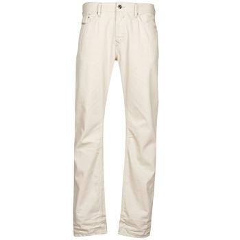 Clothing Men straight jeans Diesel WAYKEE White