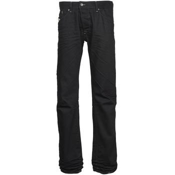 Clothing Men straight jeans Diesel DARRON Black