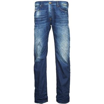 Clothing Men straight jeans Diesel WAYKEE Blue