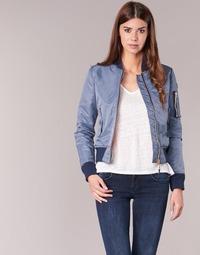 Clothing Women Jackets Schott BOMBER BY SCHOTT Grey