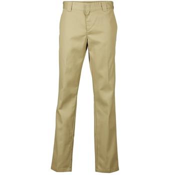 Clothing Men 5-pocket trousers Dickies SLIM FIT WORK PANT Beige