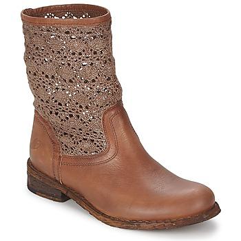 Shoes Women Mid boots Felmini GREDO CHOCOLATE
