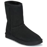 Shoes Women Mid boots UGG Australia CLASSIC SHORT BLACK