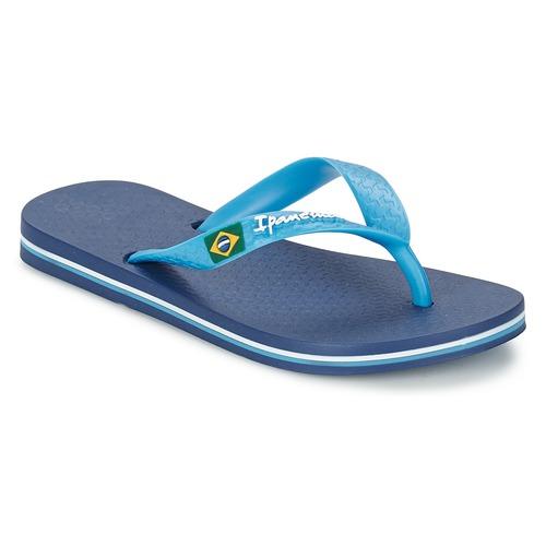 Shoes Children Flip flops Ipanema CLASSICA BRASIL II Blue