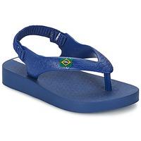 Shoes Children Sandals Ipanema CLASSICA BRASIL BABY Blue