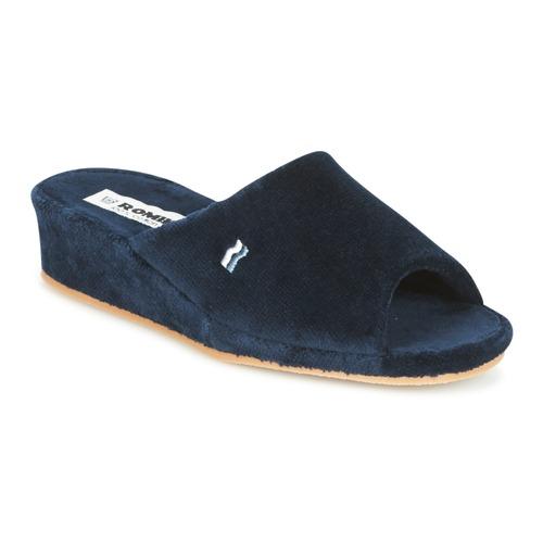 Shoes Women Slippers Romika Paris Marine