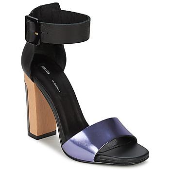 Shoes Women Sandals Miista LILY Black / Lavender