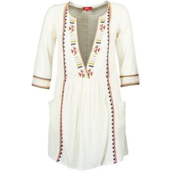 Clothing Women Short Dresses Derhy EMBOUCHURE Ecru