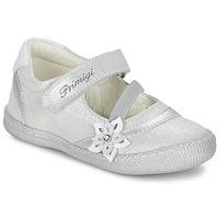 Shoes Girl Flat shoes Primigi ROSELINE-E Silver