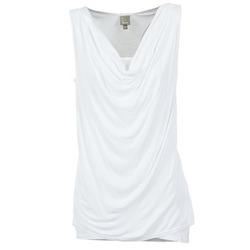 Clothing Women Tops / Sleeveless T-shirts Bench DUPLE White