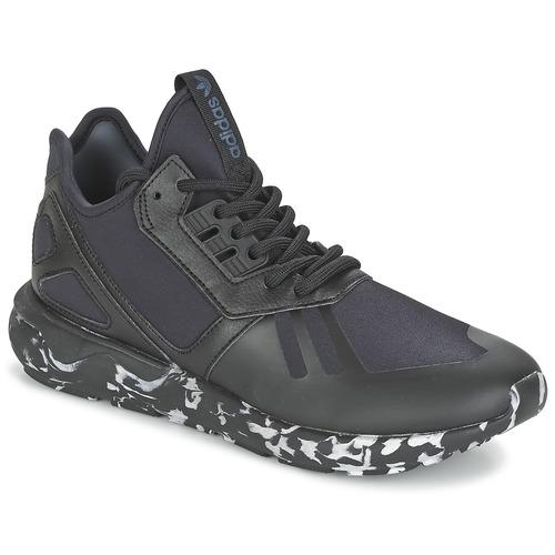 Shoes Low top trainers adidas Originals TUBULAR RUNNER Black