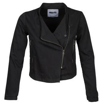 Clothing Women Jackets / Blazers Nikita CROSSOVER Black