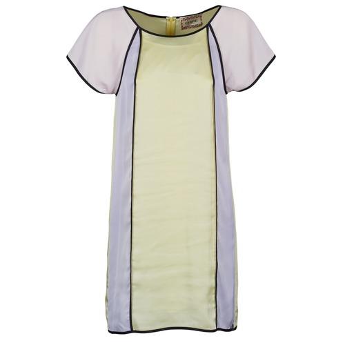 Clothing Women Short Dresses Chipie FREGENAL Yellow / Grey