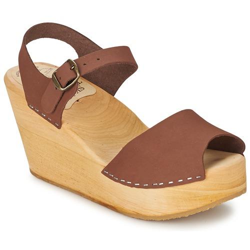 Shoes Women Sandals Le comptoir scandinave  Brown