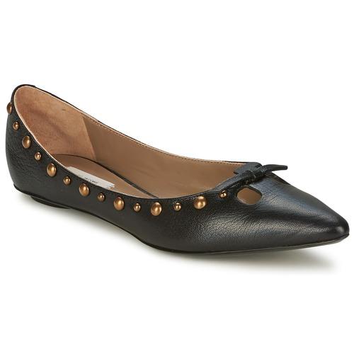 Shoes Women Flat shoes Marc Jacobs Capra Black