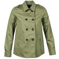 Clothing Women Jackets Benetton TUNALI KAKI